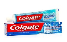 Colgate Max Fresh Blue Gel Peppermint Ice Toothpaste (150gm)