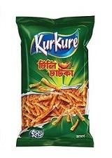 Kurkure Chili Chatka Chips (45gm)